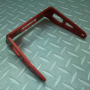 RTN Anodised Red Rear Seat Bracket